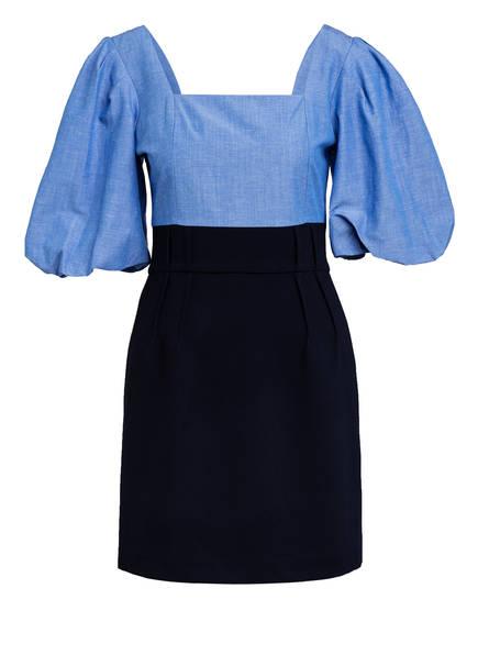 sandro Kleid, Farbe: HELLBLAU/ DUNKELBLAU (Bild 1)