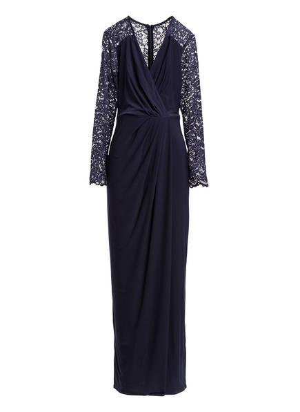 Phase Eight Abendkleid ELANOR mit Spitzenbesatz, Farbe: DUNKELBLAU (Bild 1)