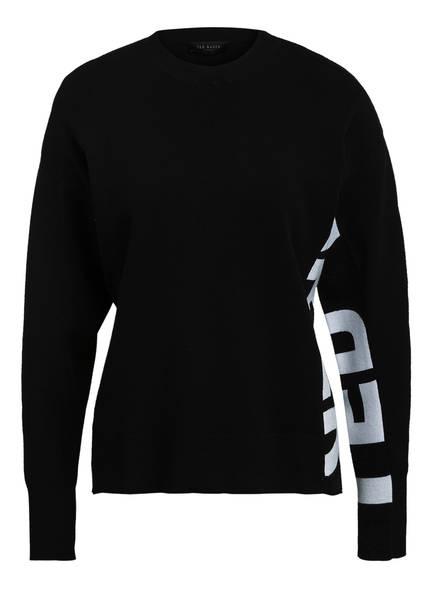 TED BAKER Pullover KEYZAY, Farbe: SCHWARZ/ WEISS (Bild 1)