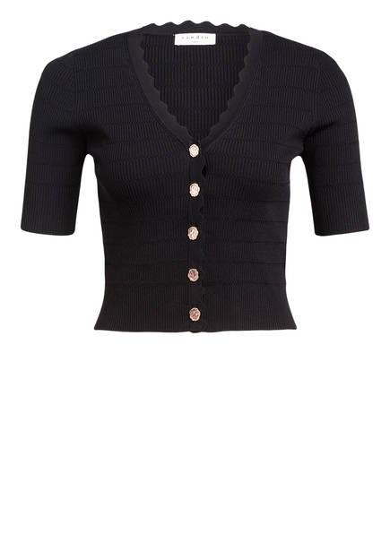 sandro Cropped-Pullover, Farbe: SCHWARZ (Bild 1)