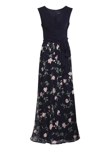 Phase Eight Kleid LEIGH-ANN mit Spitzenbesatz , Farbe: DUNKELBLAU/ GRÜN/ HELLROSA (Bild 1)