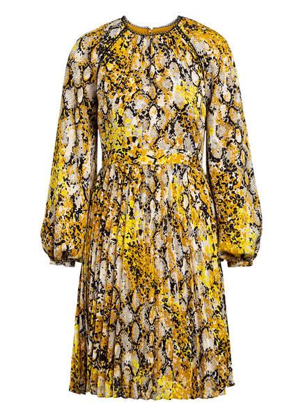 damsel in a dress Plisseekleid , Farbe: DUNKELGELB/ SCHWARZ/ ECRU (Bild 1)