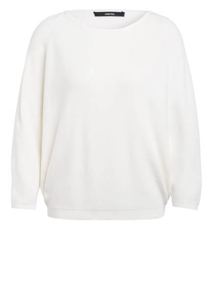 someday Pullover TIRIL mit 3/4-Arm, Farbe: WEISS (Bild 1)