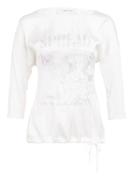 CARTOON T-Shirt mit 3/4-Arm, Farbe: WEISS (Bild 1)