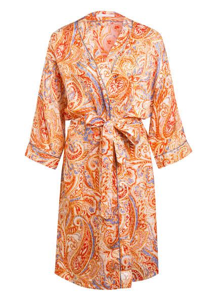 mey Kimono Serie PRISCA mit Seide, Farbe: ORANGE/ HELLLILA (Bild 1)