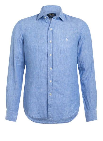 POLO RALPH LAUREN Leinenhemd Slim Fit , Farbe: HELLBLAU (Bild 1)
