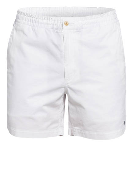 POLO RALPH LAUREN Shorts PREPSTER Classic Fit, Farbe: WEISS (Bild 1)