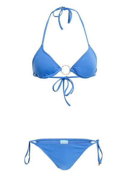 MELISSA ODABASH Triangel-Bikini MIAMI, Farbe: BLAU (Bild 1)