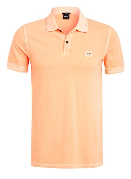 BOSS Piqué-Poloshirt PRIME Slim Fit, Farbe: ORANGE (Bild 1)