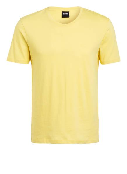 BOSS T-Shirt LECCO 80, Farbe: GELB (Bild 1)