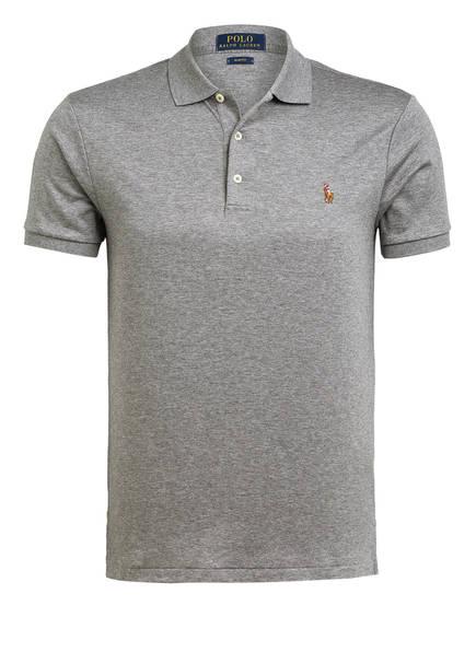 POLO RALPH LAUREN Jersey-Poloshirt Slim Fit, Farbe: GRAU (Bild 1)