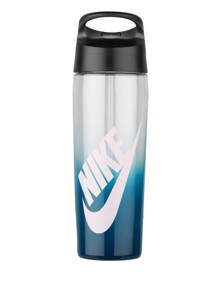 Nike Trinkflasche TR HYPERCHARGE STRAW, Farbe: BLAU/ TRANSPARENT (Bild 1)