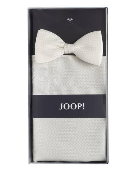 JOOP! Set: Fliege und Einstecktuch, Farbe: WEISS (Bild 1)