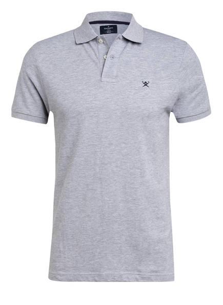 HACKETT LONDON Piqué-Poloshirt Slim Fit, Farbe: HELLGRAU MELIERT (Bild 1)