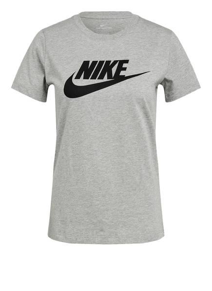 Nike T-Shirt ESSENTIAL ICON FUTURA, Farbe: HELLGRAU MELIERT (Bild 1)