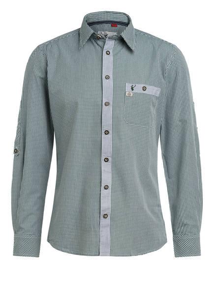 Spieth & Wensky Trachtenhemd, Farbe: GRÜN/ WEISS/ KARIERT (Bild 1)