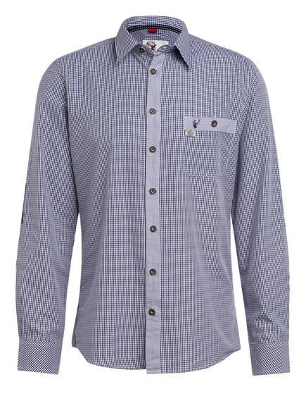 Spieth & Wensky Trachtenhemd, Farbe: BLAU/ WEISS KARIERT (Bild 1)