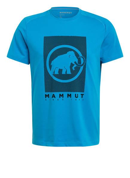 MAMMUT T-Shirt TROVAT, Farbe: BLAU/ SCHWARZ (Bild 1)
