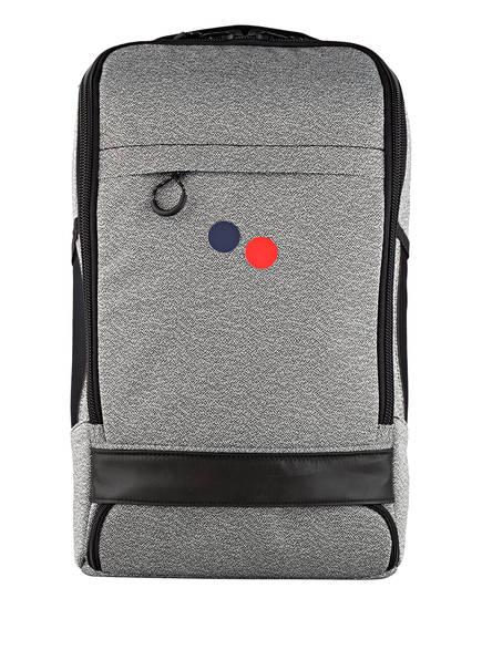 pinqponq Rucksack CUBIK MEDIUM 19 l, Farbe: HELLGRAU/ SCHWARZ (Bild 1)