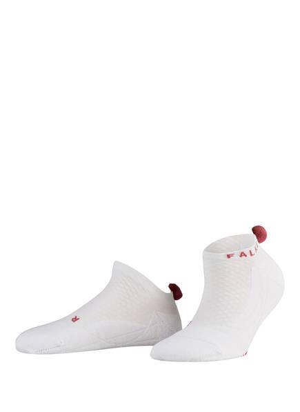 FALKE Sneakersocken GO2 POMPOM , Farbe: 2008 WHITE (Bild 1)