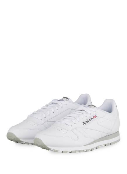 Reebok CLASSIC Sneaker CLASSIC LEATHER , Farbe: WEISS/ HELLGRAU (Bild 1)