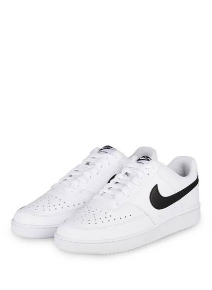 Nike Sneaker COURT VISION , Farbe: WEISS/ SCHWARZ (Bild 1)