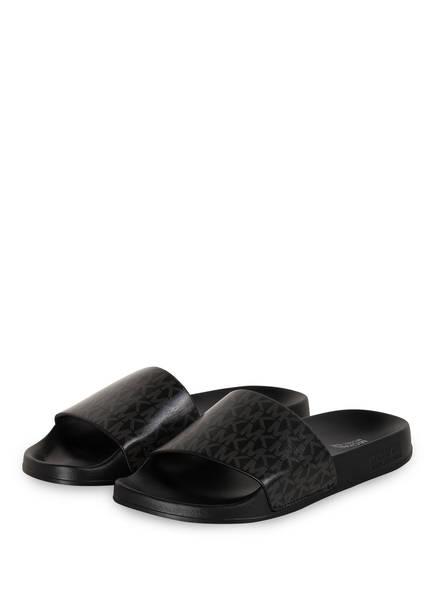 MICHAEL KORS Pantoletten GILMORE, Farbe: 001 BLACK (Bild 1)