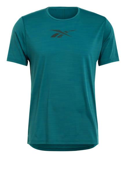 Reebok T-Shirt ACTIVCHILL MOVE mit Mesh-Einsatz, Farbe: PETROL (Bild 1)