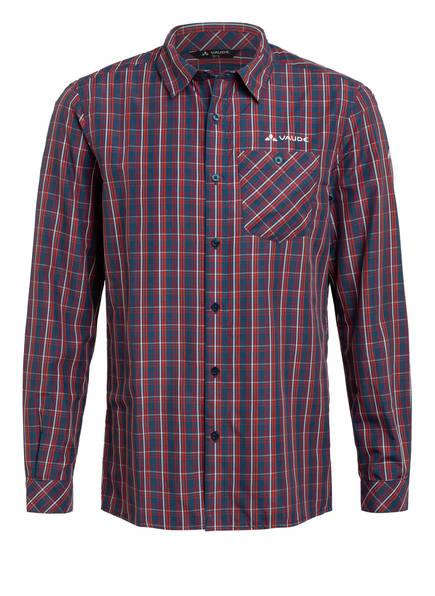 VAUDE Outdoor-Hemd ALBSTEIG, Farbe: DUNKELBLAU/ ROT/ WEISS (Bild 1)