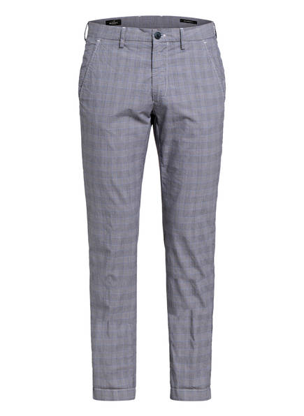 MASON'S Chino Slim Fit, Farbe: GRAU/ BLAU (Bild 1)