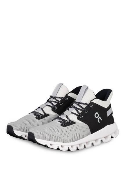 On Running Sneaker CLOUD HI EDGE, Farbe: HELLGRAU/ SCHWARZ (Bild 1)