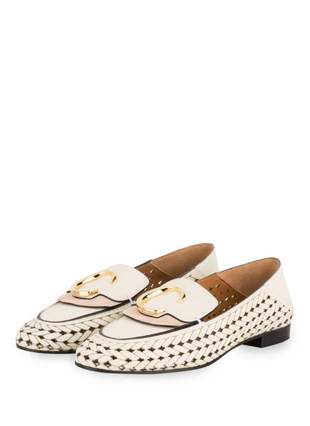 Chloé Loafer, Farbe: WHITE (Bild 1)