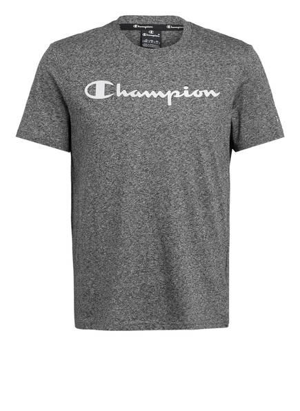 Champion T-Shirt, Farbe: DUNKELGRAU MELIERT (Bild 1)