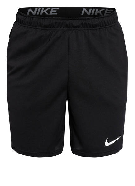 Nike Trainingsshorts DRI-FIT, Farbe: SCHWARZ/ GRAU (Bild 1)