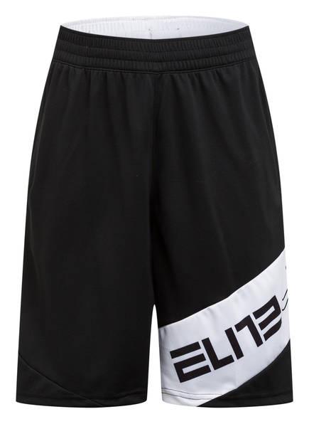 Nike Trainingsshorts ELITE, Farbe: SCHWARZ/ WEISS (Bild 1)
