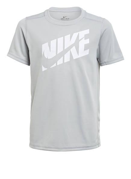 Nike T-Shirt, Farbe: HELLGRAU/ WEISS (Bild 1)