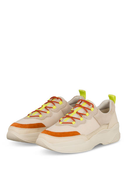 VAGABOND Plateau-Sneaker, Farbe: CREME/ ORANGE/ GELB (Bild 1)