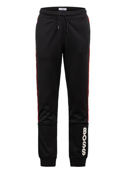 BOSS Sweatpants mit Galonstreifen, Farbe: SCHWARZ (Bild 1)