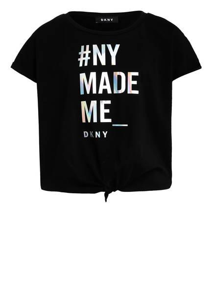 DKNY T-Shirt, Farbe: SCHWARZ/ SILBER (Bild 1)