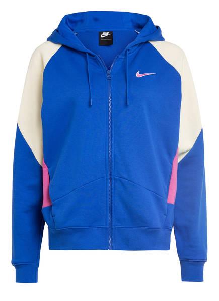 Nike Sweatjacke, Farbe: ROYAL/ FUCHSIA/ CREME (Bild 1)
