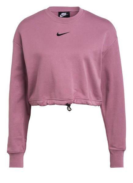 Nike Cropped-Sweatshirt SWOOSH, Farbe: LILA (Bild 1)