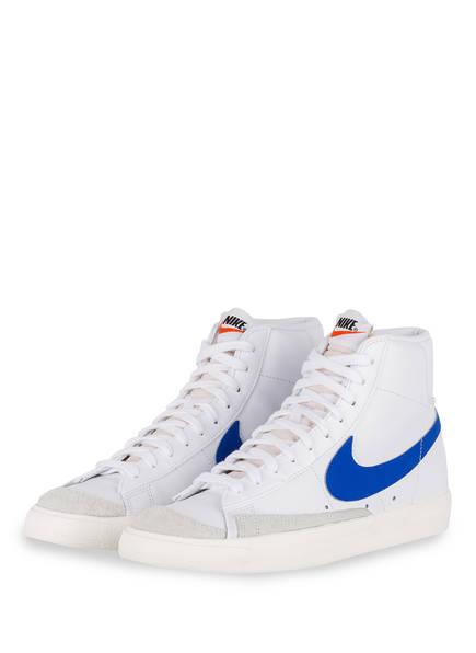 Nike Hightop-Sneaker BLAZER MID '77 VINTAGE, Farbe: WEISS/ BLAU (Bild 1)