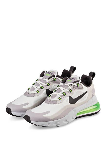 Nike Sneaker AIR MAX 270 REACT, Farbe: WEISS/ HELLGRAU/ GRÜN (Bild 1)