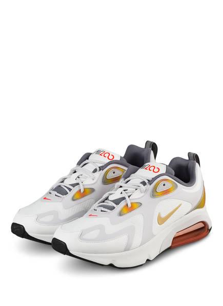 Nike Sneaker NIKE AIR MAX 200 SE, Farbe: WEISS/ ORANGE (Bild 1)