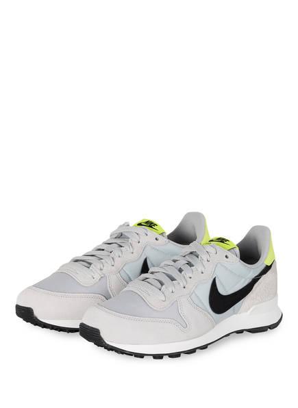 Nike Sneaker INTERNATIONALIST, Farbe: HELLGRAU/ NEONGELB (Bild 1)
