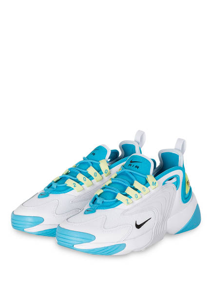 Nike Sneaker ZOOM 2K, Farbe: WEISS/ HELLBLAU (Bild 1)