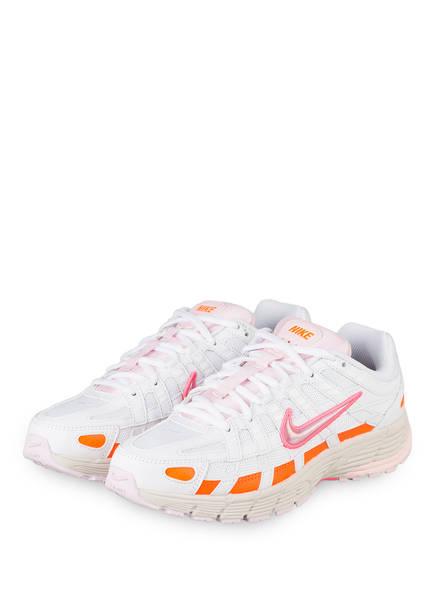 Nike Sneaker P-6000, Farbe: WEISS/ ORANGE/ PINK (Bild 1)