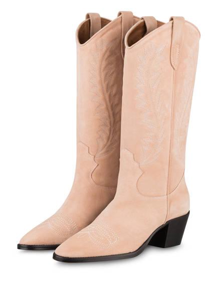 PARIS TEXAS Cowboy Boots , Farbe: NUDE (Bild 1)