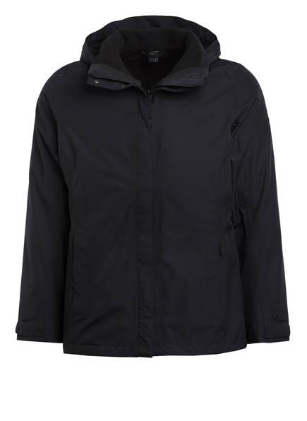 Schöffel 3-In-1-Jacke Tignes Mit Zipin!-Funktion schwarz