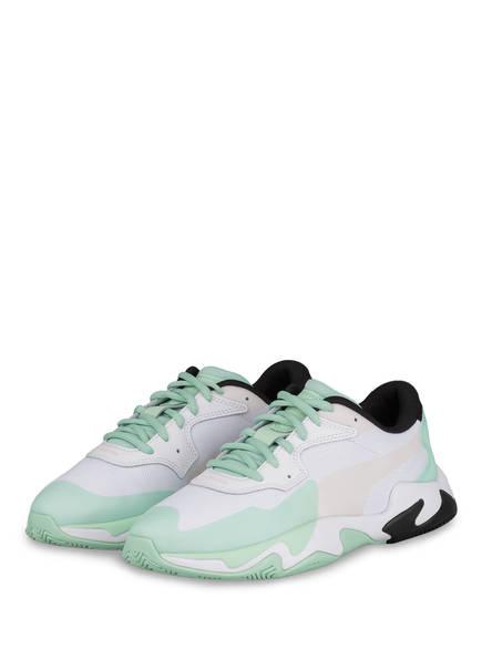 PUMA Sneaker STORM PLAS TECH, Farbe: WEISS/ MINT (Bild 1)